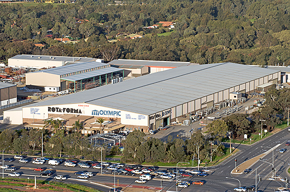 Olympic Industries Adelaide Manufacturing Facility