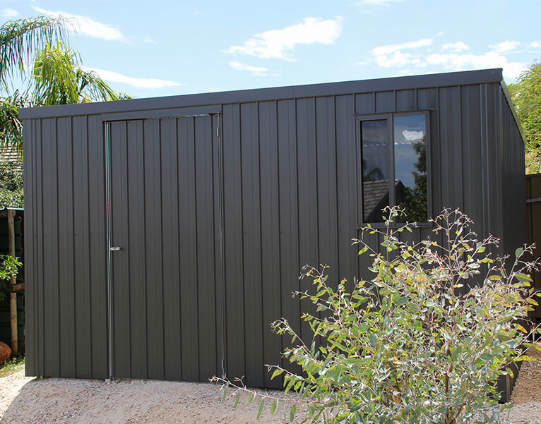 Flat Roof Tool Shed - Olympic Industries