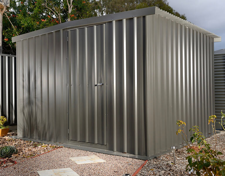 Prefabricated Flat Pack DIY Garden Shed - Olympic Industries