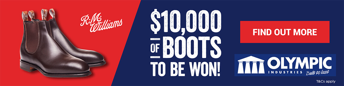 RM Williams Boots Promotion