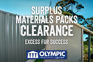 SURPLUS MATERIAL PACKS CLEARANCE