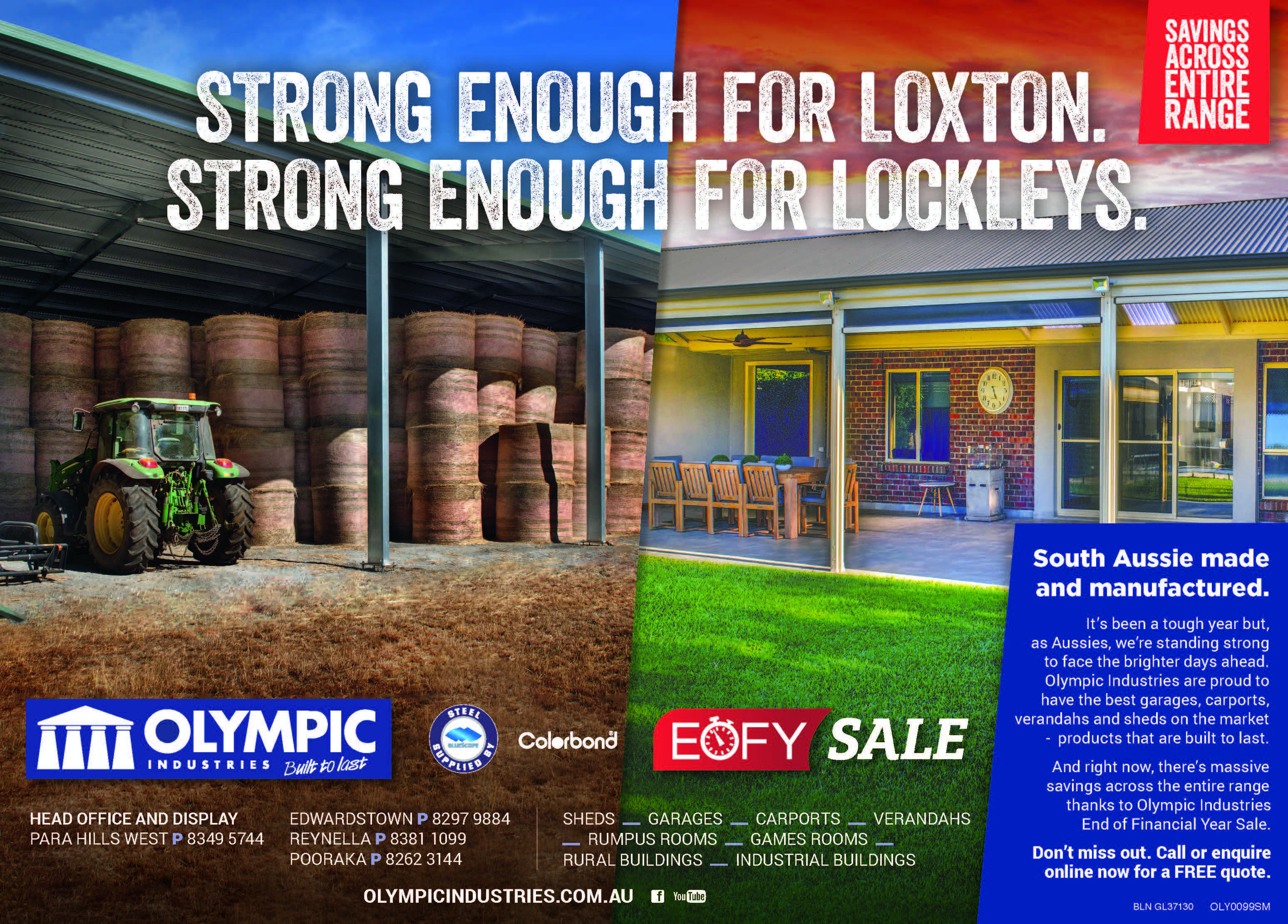 Olympic Industries - Built to Last